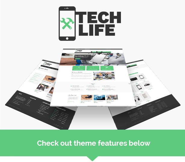 TechLife - Mobile, Tech & Electronics Repair Shop WordPress Theme - 4